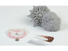 Set Touch of Christmas z růženínu a křišťálu